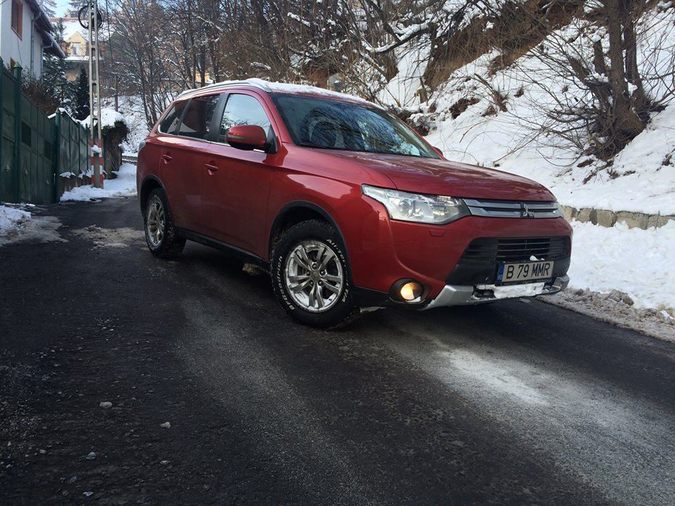 Mitsubishi Outlander 2.2 DI-D 4WD Intense AT profil