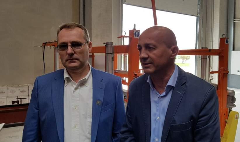 Călin Bailuc şi Michael Dietrich