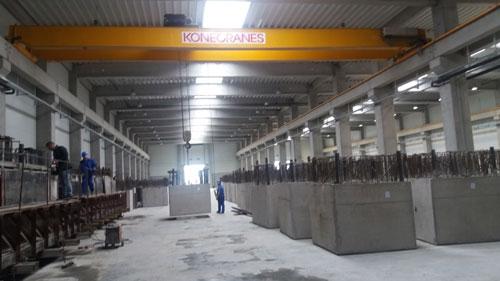 Interior fabrică Bauelemente