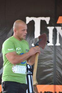Dan Petrescu - actualul campion national STIHL Timbersports